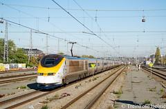 Eurostar 3214/3223 Brussel-Noord (TreinFoto België) Tags: eurostar nmbs sncb tmst 3214 3223 9114 londen stpancras brusselzuid brusselnoord noordzuidverbinding