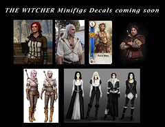 LEGO THE WITCHER (Gabriel Fett) Tags: legs witcher yen ciri cirilla triss keira mets eskel witcher3 books sapkowski cdprojectred waterslide