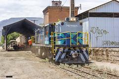 Fepasa Dt-1213 | Maestranza Los Andes (Felipe Radrigán) Tags: ferrocarril locomotive locomotora chile estacion railway railroad train tren fepasa 1212 dt1212 alco dl535rsd losandes rsd30 trasandino