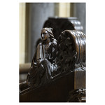 Choir stall finial