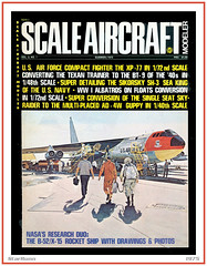 X-15 & B-52 - Scale Aircraft Modeler (StarRunn) Tags: x15 boeing b52 experimental usaf rocketplane scaleaircraftmodeler magazinecover 1970s aviation northamericanaviation ottokuhni