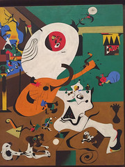 1-8 Miro at MoMA (MsSusanB) Tags: nyc newyork paintings moma exhibition museumofmodernart miro joanmiro dutch interior