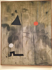 1-5 Miro at MoMA (MsSusanB) Tags: nyc newyork paintings moma exhibition museumofmodernart miro joanmiro birthoftheworld