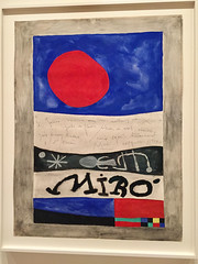 1-18 Miro at MoMA (MsSusanB) Tags: nyc newyork paintings moma exhibition museumofmodernart miro joanmiro poster