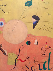 1-4 Miro at MoMA (MsSusanB) Tags: nyc newyork paintings moma exhibition museumofmodernart miro joanmiro landscape hunter catalan