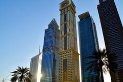 BUR_0145a (Neal J.Wilson) Tags: dubai uae arabian architecture buildings modernarchitecturearchitecturehotels skyscrapper skyline futuristic sheikh zayed road middleeast travel travelling