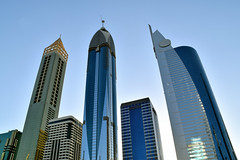 BUR_0269a (Neal J.Wilson) Tags: dubai uae arabian architecture buildings modernarchitecturearchitecturehotels skyscrapper skyline futuristic sheikh zayed road middleeast travel travelling