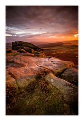 Higger Tor / November 3rd (Edd Allen) Tags: thepeakdistrict higgertor sunset sun light nikond610 nikon d610 countryside country atmosphere atmospheric zeissdistagon18mm zeiss 18mm landscape uk england greatbritain britain hills ethereal serene bucolic tor