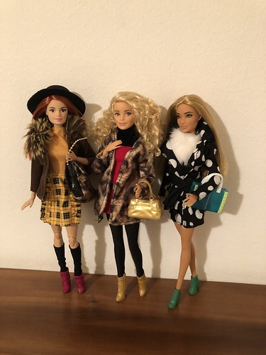 Barbie style winter