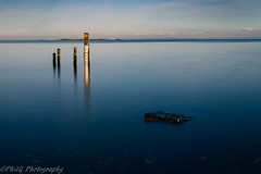 DEPTH (philipgrattan1) Tags: ulster outdoors sun outside canon eos77d efs1855mm water depth marker rocks reflections ndfilters nd1000 longexposure lough