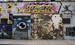 Manhattan Street Art (neilsonabeel) Tags: contax139q contax zeiss yashica film analogue streetart manhattan newyorkcity street mural