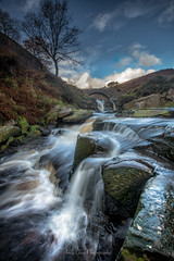 Three Shires Head (ANG Imagery) Tags: waterfall cascades rocky river flowing autumn peakdistrict landscape threeshireshead