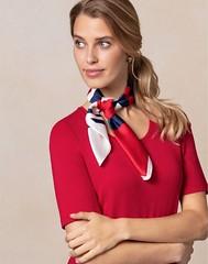 Walbusch n°1109 (Blouse et Foulard 2) Tags: blouse foulard walbusch silk scarf