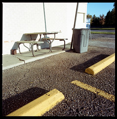 2019-11 H C R02 004 (kccornell) Tags: color 120 6x6 film louisiana kodak hasselblad 400 500c medium format portra table picnic lafayette lamar
