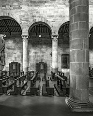Across BW (ken mccown) Tags: cathedral church architecture fiesole italy cattedraledisanromolodifiesole