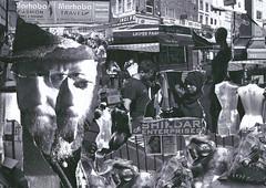 Selfie: Roman Road Market (Graeme Jukes) Tags: collage dada popart selfportrait