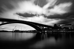broen (skarhenrik) Tags: fujifilm xh1 xf16mmf14 ndfilter landscape cityscape bridge bergen norway blavkandwhite