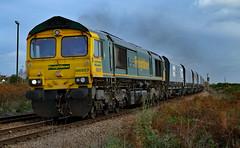 Freightliner - 66957 (dgh2222) Tags: class 669 66957 freight selby uk railways diesel locomotive