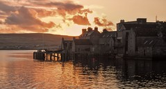 Sunrise in Lerwick (johnny_9956) Tags: shetland island scotland lerwick town urban water sea building buildings houses sunrise morning canon uk 7d outdoor outside