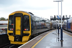 (Will Swain) Tags: station 14th october 2019 train trains rail railway railways transport travel uk britain vehicle vehicles england english europe transportation class portsmouth southsea