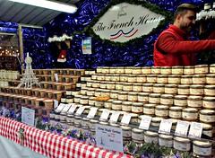 French stall at the Manchester Christmas Markets 2019 (Tony Worrall) Tags: manchester christmas event festive foodie food foodfestival gmr stalls goods people shoppers nice dailyphoto welovethenorth nw northwest north update place location uk england visit area attraction open stream tour country item greatbritain britain english british gb capture buy stock sell sale outside outdoors caught photo shoot shot picture captured ilobsterit instragram french jars package packets