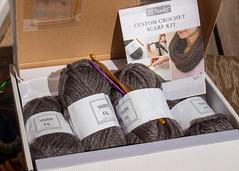 315/365 Good Intentions (Helen Orozco) Tags: day315365 365the2019edition kit scarfkit crochet box yarn hook needle