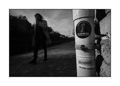 La solidarité n'est pas un crime / Solidarity is not a crime (tinlevla) Tags: streetphotography xt3 fujifilm blackandwhite bw namur
