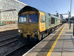 Photo of 66560 Cardiff Central 11.11.19