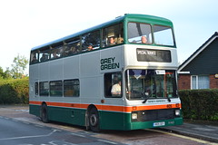 Grey Green 405 H105GEV (Will Swain) Tags: isle wight buses beer walks weekend 2019 sunday 13th october bus transport transportation travel uk britain vehicle vehicles county country england english island south coast newport grey green 405 h105gev