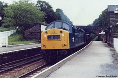 025_12 (Mersey_Rails) Tags: class 40 loco train delamere station diesel locomotive rail railway br 40166