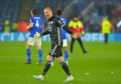 Leicester City v Arsenal (Alex Hannam) Tags: sport soccer clubsoccer leicester england unitedkingdom lcfc leicestercity leicestercityfootballclub arsenal kasperschmeichel