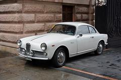 Alfa Romeo Giulia Sprint 1600 (Maurizio Boi) Tags: car auto voiture automobile coche old oldtimer classic vintage vecchio antique italy alfaromeo giulia sprint pontedecimogiovi