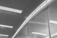 airport (skarhenrik) Tags: fujifilm xh1 xf16mmf14 blackandwhite lines airport