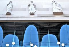 Détails de la façade du Conservatoire de Musique Maurice Ravel à Levallois-Perret (Sokleine) Tags: architecture contemporary détails details décorarchitectural musique music notes portée conservatoire conservatorium ravel levalloisperret levallois 92300 suburb banlieue hautsdeseine iledefrance france