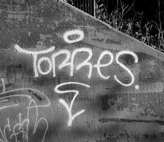 Graffiti in Amsterdam (wojofoto) Tags: amsterdam nederland netherland holland graffiti streetart wojofoto wolfgangjosten tags tag torres blackandwhite monochrome zwartwit