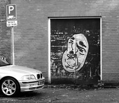 Graffiti in Amsterdam (wojofoto) Tags: amsterdam nederland netherland holland graffiti streetart wojofoto wolfgangjosten blackandwhite monochrome zwartwit