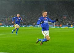 Leicester City v Arsenal (Alex Hannam) Tags: england sport unitedkingdom soccer leicester clubsoccer arsenal leicestercity lcfc leicestercityfootballclub jamievardy