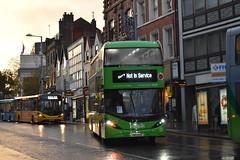 Nottingham City Transport 498 (Ash Hammond) Tags: nottinghamcitytransport scanian280ud alexanderdennisenviro400cbgcity 498 yn19ehc