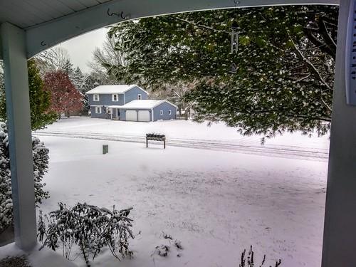 Veterans Day snowstorm