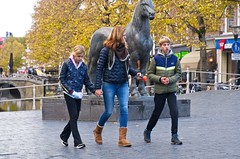 Family (Hindrik S) Tags: mother daughter son mem dochter soan tochter sohn zoon fille femme fils mama moeder mutter streetphoto strjitfotografy strasenfotografie straatfotografie candid horse usheit hynder pferd paard cheval jeans girl boy lady woman frou frau vrouw nijstêd nieuwestad langepijp herbst hjerst autumn fall sonyphotographing sony sonyalpha amount minoltaamount on1photoraw2019 on1pics tamron tamronaf16300mmf3563dillvcpzdmacrob016 a77ii α77 sonya77ii slta77ii sonyilca77m2 2019 90mm f56 iso800 1500