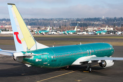 2009_01_17 KRNT-2 (jplphoto2) Tags: 737 737800 boeing737 jdlmultimedia jeremydwyerlindgren krnt rnt tui tui737800 aircraft airline airplane airport aviation