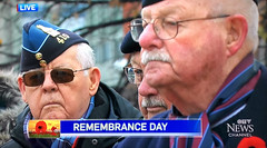Remembrance Day Screencap (ruthlesscrab) Tags: remembranceday 111119 ottawa cbc werehere hereios wah