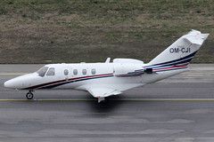 ATF-Aviation Sro Cessna Citationjet 1 OM-CJI (c/n 525-0526) (Manfred Saitz) Tags: vienna airport schwechat vie loww flughafen wien atf aviation cessna citation citationjet omcji omreg