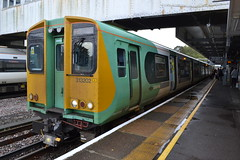 Southern 313202 (Will Swain) Tags: station 14th october 2019 train trains rail railway railways transport travel uk britain vehicle vehicles england english europe transportation class havant southern 313202 313 202