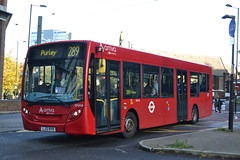 Arriva London ENX16 LJ12BYB (Will Swain) Tags: sutton 19th october 2019 london greater city centre capital south bus buses transport transportation travel uk britain vehicle vehicles county country england english west croydon station arriva enx16 lj12byb