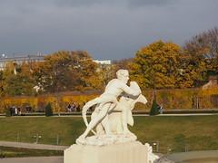 fighting the beast (Elisabeth patchwork) Tags: wien vienna austria belvederegarden