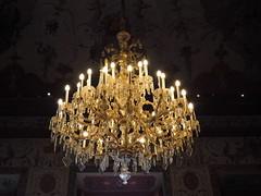 Luster (Elisabeth patchwork) Tags: luster unteresbelvedere ceiling lamp light wien vienna austria belvederegarden