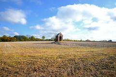 Abandon ? (2) (JDAMI) Tags: champ arbres chapelle abandon isolement ruralité eteules boves fouencamp somme 80 picardie hautsdefrance france nikon d600 tamron 2470