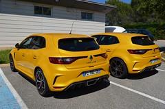 Renault Megane RS (benoits15) Tags: renault megane rs yellow jaune blancpain gtseries castellet paulricard