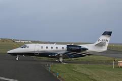Citation 560XLS+ G-SKAL at Isle of Man EGNS 11/11/19 (IOM Aviation Photography) Tags: citation 560xls gskal isle man egns 111119